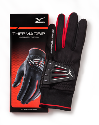Mizuno Golf Men Golf Gloves Synthetic Thermagrip