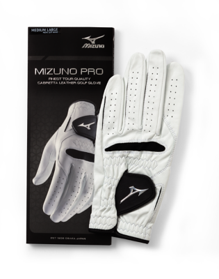 Mizuno Golf Men Golf Gloves Leather Skin Tite