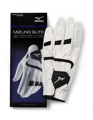Mizuno Golf Men Golf Gloves Leather Gripflex