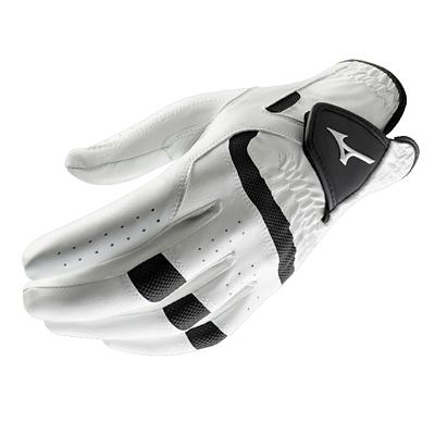 Mizuno Golf Mens Golf Gloves Leather Gripflex