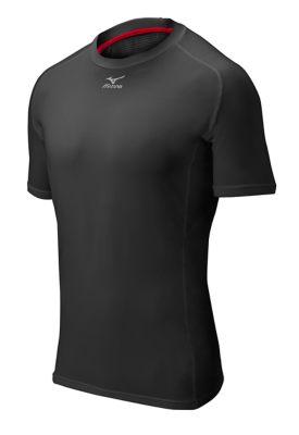 Mizuno Diamond Men Team Apparel Underwear Short Sleeve