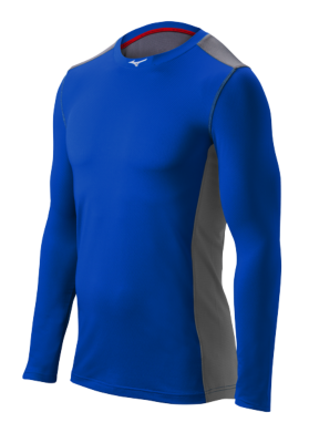 Mizuno Diamond Mens Team Apparel Tops Long Sleeve