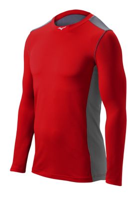Mizuno Diamond Youth Team Apparel Tops Long Sleeve