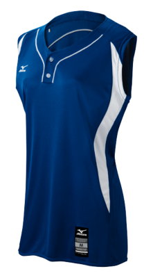 Mizuno Diamond Youth Team Apparel Tops Sleeveless