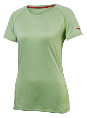Mizuno Running Women Training Apparel Tops Short Sleeve