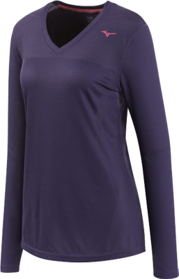 Mizuno Running Women Training Apparel Tops Long Sleeve