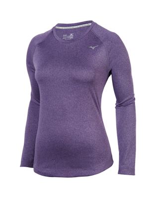 Mizuno Running Womens Training Apparel Tops Long Sleeve