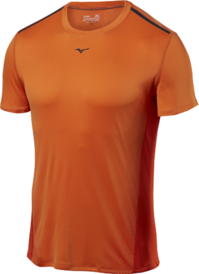 Mizuno Running Men Training Apparel Tops Short Sleeve