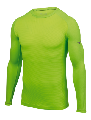 Mizuno Running Men Training Apparel Tops Long Sleeve