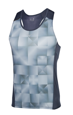 Mizuno Running Mens Training Apparel(Dia/Ath) Tops Sleeveless