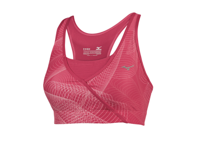 Mizuno Running Womens Training Apparel(Dia/Ath) Tops Bra Top