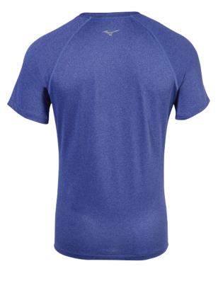 Mizuno Running Mens Training Apparel(Dia/Ath) Tops Short Sleeve