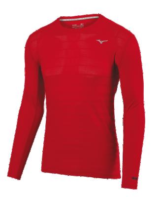 Mizuno Running Mens Training Apparel(Dia/Ath) Tops Long Sleeve
