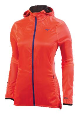 Mizuno Running Womens Training Apparel(Dia/Ath) Outerwear Long Sleeve