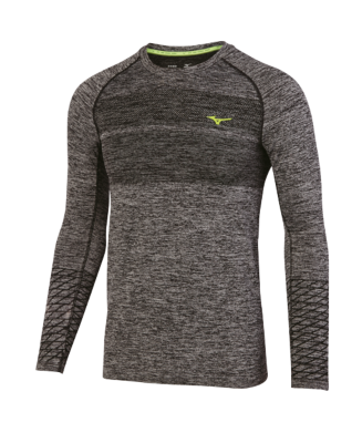 Mizuno Running Mens Training Apparel(Dia/Ath) Tops Long Sleeve