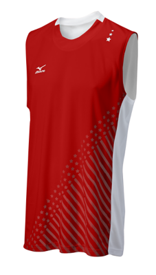 Mizuno Volleyball Men Team Apparel Tops Sleeveless