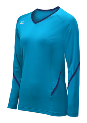 Mizuno Volleyball Women Team Apparel Tops Long Sleeve