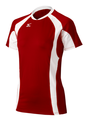 Mizuno Volleyball Women Team Apparel Tops Short Sleeve
