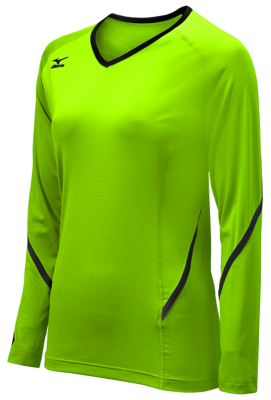 Mizuno Volleyball Youth Team Apparel Tops Long Sleeve
