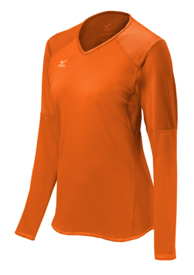 Mizuno Volleyball Womens Team Apparel Tops Long Sleeve