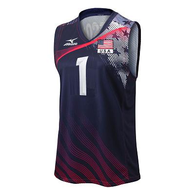 Mizuno Volleyball Women Team Apparel Tops Custom