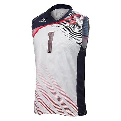 Mizuno Volleyball Men Team Apparel Tops Custom