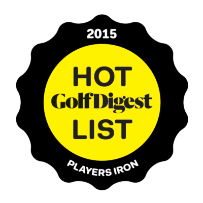2015 Golf Digest Hot List Players Iron Gold Medal