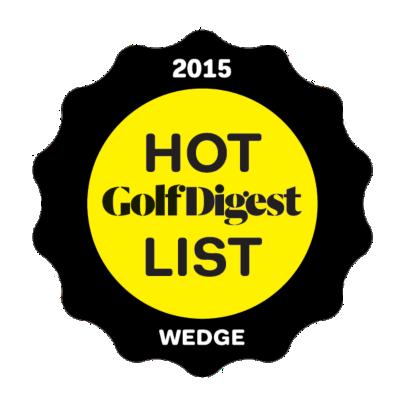 2015 Golf Digest Hot List Wedge Iron Gold Medal