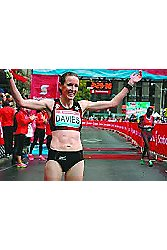 Mary Davies after win at Scotiabank Toronto Waterfront Marathon